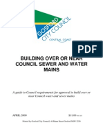 BUILDING OVER OR NEAR