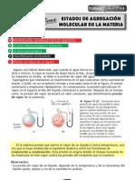 Estados de Agregacion Molecular de La Materia