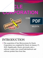 ppt on oracle corporation