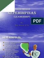 Dasar Dasar Kepemimpinan
