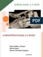 ASSISTÊNCIA SOCIAL E IDOSO