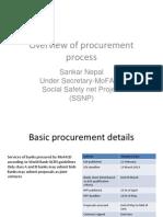 Procurement Process PSP