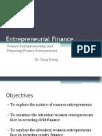 Session 9 Financial Female Entrepreneurs