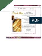 receita pão de alho