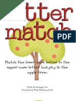 File Folder Game Alphabet Matching