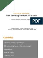 Formulacion Plan Estrategico 2013 2017