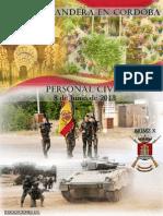 Jura de Bandera para personal civil en Córdoba