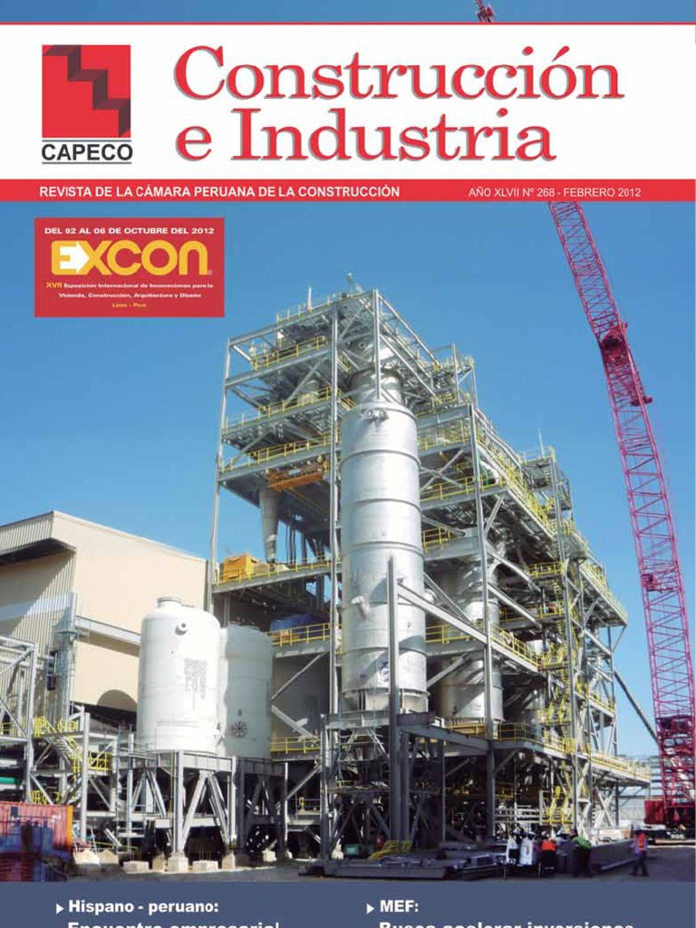 Revista De Construccion E Industria Lima Perú
