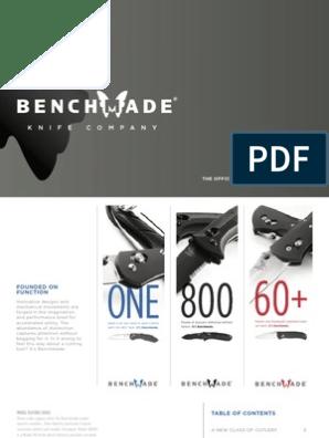Benchmade 2005 Consumer | Knife | Blade
