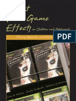 Violent Video Games Effects on Children and Adolescents