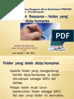Moodle - Adding a Zipped Folder