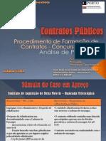 Contratos Públicos - trabalho