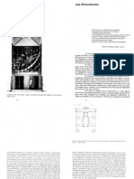 Dimensiones de La Arquitectura - Espacio, Forma y Escala