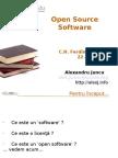 Open Source Software - Ferdinand I Bacau