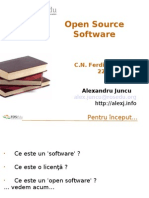 Open Source Software - Ferdinand I Bacau