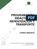 PROGRAMACIÓN DIDÁCTICA DE REPENTIZACIÓN Y TRASPORTE. CURSO 2009-10