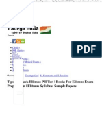 Tips to Crack Elitmus PH Test _ Books for Elitmus Exam Preparation _ Elitmus Syllabus, Sample Papers _ Padega India