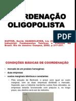 COORDENAÇÃO OLIGOPOLISTA