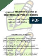 Reguli Scriere Lucrare de Licenta/Disertaie