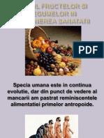 Rolul Fructelor Si Legumelor in Alimentatie