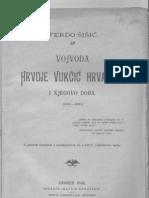 Ferdo Sisic Vojvoda Hrvoje Vukcic Hrvatinic
