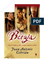 Juan Antonio Cebrian - Los Borgia. Historia de una ambicion.doc