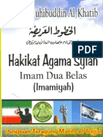 Hakikat Agama Syiah Imam Dua Belas ( Imamiyah )