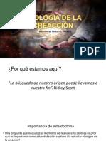 APOLOGIA DE LA CREACCIÓN