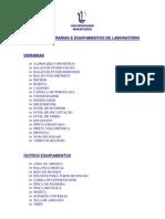 Manual de Vidrarias e Equipamentos de Laboratorio