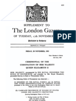 Supplement to the London Gazette