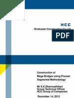 Mega Bridges Using Precast Technology SKD