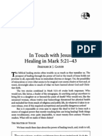 Healing in Mark 5