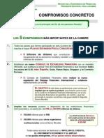 acuerdos y compromisos cumbre g-20