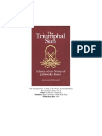 The Triumphal Sun- A Study of the Works of Jalaluddin Rumi