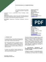 Gestión Tecnológica y competitividad - Omar Montoya Suárez