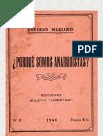POR QUÉ SOMOS ANARQUISTAS -S.MERLINO