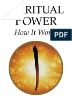 Spiritual Power- How It Works