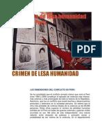 Crimen de Lesa Humanidad en el Peru