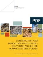 Case-construction and Demolition Waste Guide