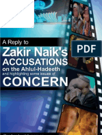 Reply To Dr. Zakir Naik