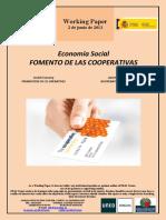 Economía Social. FOMENTO DE LAS COOPERATIVAS (Es) Social Economy. PROMOTION OF CO-OPERATIVES (Es) Gizarte Ekonomia. KOOPERATIBEN SUSTAPENA (Es)