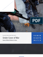 under cover of war
