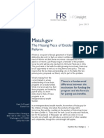 Match.gov - The Missing Piece of Entitlement Reform