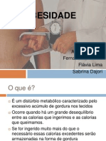 OBESIDADE Powerpoint
