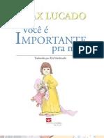 Livro eBook Voce e Importante Para Mim