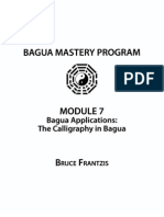 2 Bagua Applications - The Calligraphy in Bagua