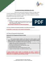 modificación reglamento comite técnico de arbitros 2011-2012