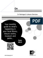 What's on in Haringey Libraries June 2013