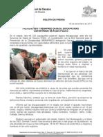 02/12/11 Germán Tenorio Vasconcelos PREVIENE SSO Y RENAPRED OAXACA DISCAPACIDAD CON ENTREGA DE ÁCIDO FÓLICO (1)