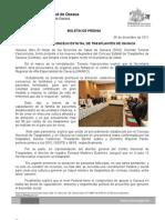 06/12/11 Germán Tenorio Vasconcelos  Reinstala Consejo Estatal de Trasplantes de Oaxaca